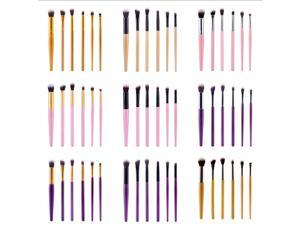 Professional 6 x Makeup Eye shadow Nose Shadow Smudge Brush Set Cosmetic Tool