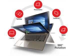 "Toshiba Satellite Radius 15.6"" IPS Full HD TouchScreen 2in1 Laptop, Intel Dual-Core i7 Upto 3.0GHz, 16GB RAM, 512GB SSD, Wifi, Bluetooth, Webcam, Windows 10 Professional 64Bit"