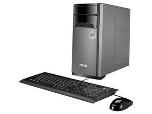 ASUS Desktop Computer Intel Quad-Core i5 Upto 3.4Ghz, 8GB DDR3, 240GB SSD Plus 1TB HDD, Wifi, Bluetooth, DVD-RW, Windows 10 Professional 64Bit