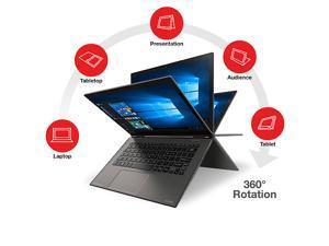 "Toshiba Satellite Radius 12 12.5"" 2-in-1 Ultra HD 4K Full Tilt Touchscreen Notebook, Intel Core i7-6500U UpTo 3.1GHz, 8GB RAM, 1TB SSD, HD Webcam, WiFi, BlueTooth, Card reader, Windows 10 Professional"