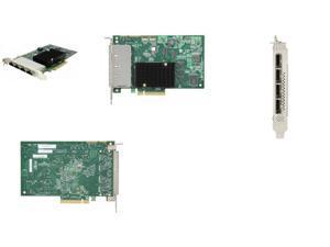 LSI Logic 9201-16e 16-port SAS Controller - Serial ATA/600 - PCI Express 2.0 x8 - Plug-in Card - 4 Total SAS Port(s) - 4 SAS Port(s) Internal - 4 SAS Port(s) External
