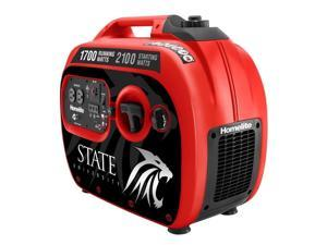 Homelite UTI2100R 2,100-Watt Red Gasoline Powered Quiet Inverter Generator