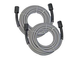 PowerStroke 308835006 Pressure Washer Hose M22 Single 0-ring x 14mm For PS80310E and many others 2-Pack