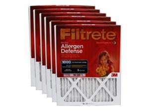 Filtrete 9800DC-6 Micro Allergen Reduction Filter, 1000 Micron, 20 In L X 16 In W X 1 In  6 Pack