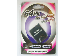 64MB Memory Card For Game Cube