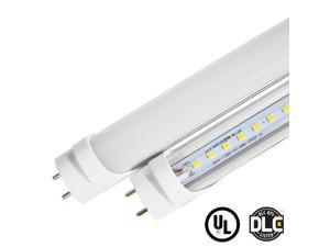Green Light Depot 4ft 15W VersaT8 5000K LED Tube - 10 Pack - Ballast Compatible or Bypass - (UL+DLC)