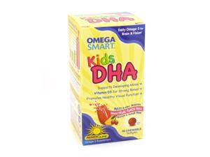 Kids DHA Omega Smart By Renew Life - 60 Chewables