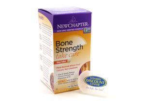 Bundle 1 Bottle of Bone Strength Take Care By New Chapter 240 Tabs & 1 Pill Box