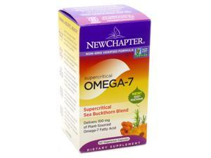 Supercritical Omega-7 by New Chapter -  60 Capsules
