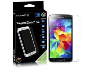 Fuji Labs Vanguard Shield PRO Glass Screen Protector (9H hardness) Designed Samsung Galaxy S5