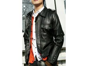 Corporate Leather Jacket Mens