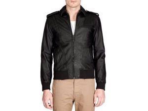 Men's Sheep Bomber Leather Jacket