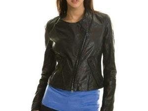 Calega Sexy Womens Leather Jacket