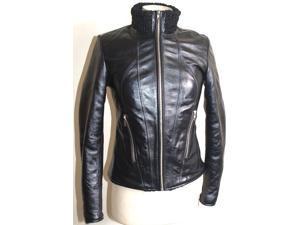 Womens Exotic Karakul Fur Leather Jacket