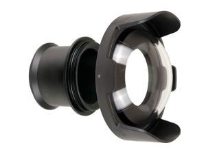 """Ikelite Telephoto 5.1"""" Body 5510.28 with 8"""" Dome 5510.45 - Package 5511.5"""