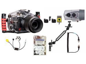 5DS, 5DSR, 5D Mark III Canon Housing by Ikelite 6871.04 w/ DS160 Solo Strobe Pkg