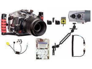 XSi, T1i, 450D, 500D Canon Housing by Ikelite 6871.50 w/ DS160 Solo Strobe Pkg