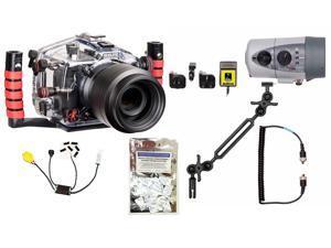T4i, T5i, 650D, 700D Canon Housing by Ikelite 6871.65 w/ DS160 Solo Strobe Pkg