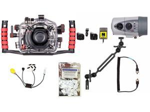 D5500 Nikon Underwater Housing by Ikelite 6801.55 w/ DS160 Solo Strobe Pkg