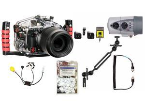 D7100, D7200 Nikon Camera Housing by Ikelite 6801.72 w/ DS160 Solo Strobe Pkg