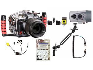 D600, D610 Nikon Underwater Housing by Ikelite 6812.61 w/ DS160 Solo Strobe Pkg