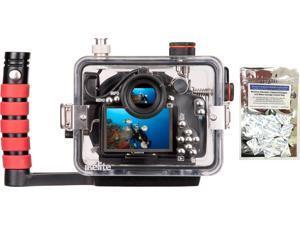 Canon 100D Rebel SL1 Underwater Camera Housing by Ikelite 6970.01 w/ Freebie