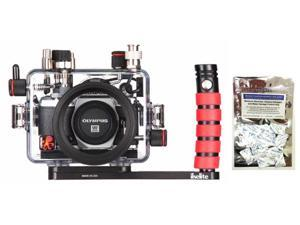 OM-D E-M5 Mark II Olympus Underwater Camera Housing by Ikelite 6950.52 w/Freebie