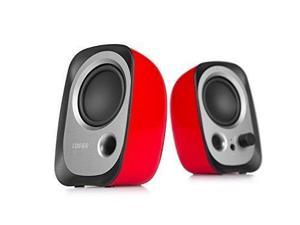 Edifier R12U Stereo Computer Bookshelf Active Speakers - Red