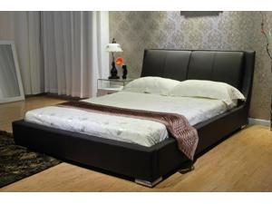 Greatime B1088 Queen Black Platform Bed
