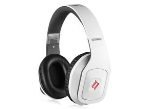 Noontec Hammo S Over-Ear Headphones For Audiophile Sound High Definition Audio, Votrik HD500 50mm Drivers Exclusive SCCB Acoustic Technology (White)