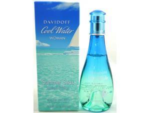 Davidoff Cool Water Summer Seas Women Eau De Toilette EDT 3.4oz / 100ml