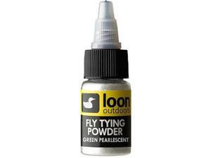 Loon Outdoors Fly Tying Powders Green Phosphorescent