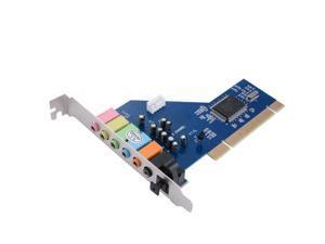PCI 7.1 Channel 7.1CH Surround 3D Sound Audio Card CMI8768 Chipset for PC AC393
