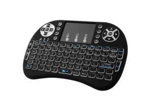 Portable i8 Backlight Touchpad 2.4GHz Mini Wireless Keyboard Mouse Combo AC397