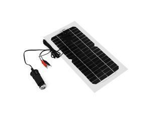 5.5W Solar Panel Battery Charger For Phone Car Auto Motorcycle Truck Boat BC567