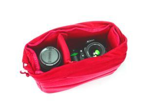 XCSOURCE Insert Padded Camera Bag DSLR Lens Inner Divider Partition Protect Case Pouch Red LF675