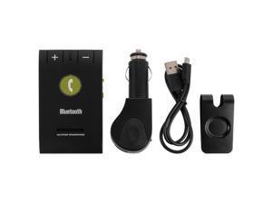 Wireless Bluetooth 4.0 Handsfree Car Kit Speaker Music Player Clip Visor MA361