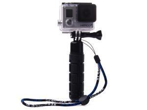 XCSOURCE New Self-Photo Handle Grip Monopod + Strap + Screw for GOPRO Hero 2 3 3+ 4 Black OS184