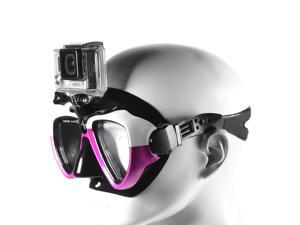 XCSOURCE Camera Mount Diving Mask Scuba Snorkel Swim Goggles for GoPro Hero 4/3+/2 OS645