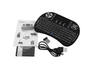 XCSOURCE i8 Backlight Touchpad 2.4G Mini Wireless Keyboard & Mouse Combo Portable Handheld Airfly Mouse For Google Android TV Box, PC, Xbox 360, PS3, HTPC