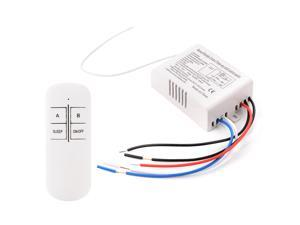 Xcsource New 2 Way Light Lamp Digital Wireless Remote Control Switch ON/OFF 220V LD738