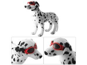 Xcsource Pet Dog Sunglasses UV400 Eye Wear Waterproof Multi-color Protection Goggles Eyeglasses Red OS597