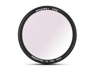 Rangers Pro Mosaic Series MRC Sapphire+ Technology Ultra-thin 58mm UV filter RA037