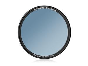 Rangers Extreme 77mm CPL Lens Filter 3.8mm Ultra Slim 20 Layer Multi-Resistant Coated German Schott Optical Glass RA083