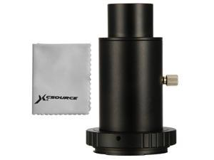 """Xcsource® Xcsource  Telescope Camera Adapter 1.25"""" Extension Tube T Ring for Canon EOS Metal DC618"""