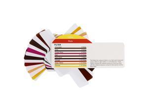 Xcsource® 20pcs Universal Color Gels Filter + Band for Flash Speedlite Photo Studio DC657