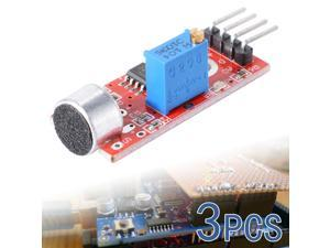 3PCS Microphone Sensor High Sensitivity Sound Detection Module For Arduino TE136