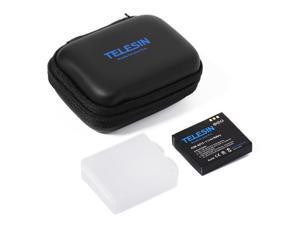 TELESIN® Telesin Portable Mini Protective Storage Collection Bag Camera Carry Case Small Pocket with Zipper for Xiaoyi Black OS493