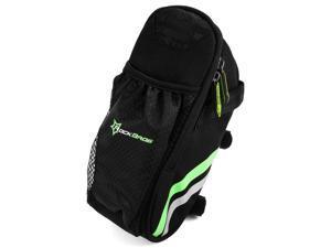 ROCKBROS® ROCKBROS Bicycle Reflective Saddle Bag, Seat Bag, Seat Pak Pouch with Water Bottle Pocket for MTB Folding Bike Road Bike CS286