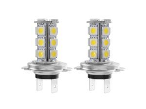 XCSOURCE®  2x H7 5050 18 SMD LED Car Vehicle Daytime Running Light DRL Driving Head Fog Light Lamp Cool White 5W 12V MA376